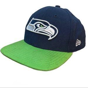SEATTLE SEAHAWKS NFL New Era baseball hat cap